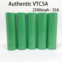 Wholesale 35a battery for sale - Authentic Guarantee Original Sony VTC5A mah A Rechargeable Battery VTC6 VTC5 High Drain Batteries for Ecig Mods
