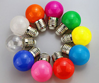 Wholesale E27 3w Changeable - 0.5W 1W 2W 3W E27 B22 LED ball Bulb Effect DJ globe Lamp Light bubble Bulb Stage Lighting 85-265v