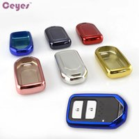 Wholesale Honda Remote Shell - Car Key Cover Case for Honda Accord 9 Civic Crosstour CR-V Fit Insicht Odyssey Key Shell Remote Cover Car Styling