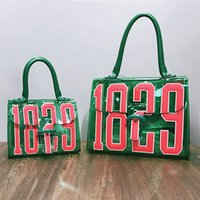 Wholesale Korean Leather Hobo Bags - 2017 New 1829 Jelly Handbags fashion tote beach bags for women retro handbag two sizes shoulder bags