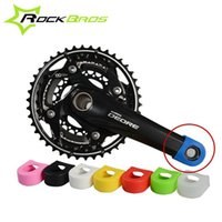 Wholesale Bike Crank Crankset - Wholesale-ROCKBROS Crankset Crank Protective Sleeve Protector Mountain Bike Road Bike Fixed Gear Bicycle Crank Protective Cover H6085