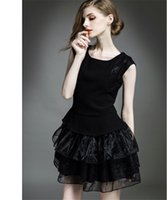 Wholesale Cheap Cotton Maternity Dresses - Classic Black Evening Wear Dresses Sweety Short Cocktail Dresses Online Cheap Lovely Formal Wear Best Party Celebrity Dresses Free Shipping