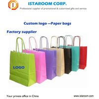 Wholesale Custom Printed Paper Bags Wholesale - China factory different material paper plastic Custom shopping bag non-woven OEM logo printing for Advertising promotional gift bags