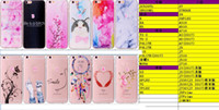 Wholesale Butterfly Flower Rose Heart - Marble Flower Butterfly Soft TPU Case for Iphone 8 8g Galaxy (J3 J5 J7)2017 Heart Love Silicone Clear Totoro Cartoon Gel Phone Cover Skin
