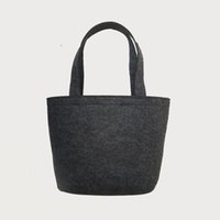 Totes Women Thread new women felt handbags fashion women shoulder bags large bags designer handbags drop shipping can customize logo