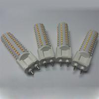 Wholesale Led Pl Downlight - A+ LED corn light G12 PL PLL light horizontal cross plug lamp 15W 20W 108leds 144leds smd2835 AC85~265V cdm-t floor walllight downlight