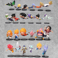 Wholesale Dragon Ball Z Vol - 6pcs set 5-9cm Dragon Ball Z Action Figure The Historical Characters Vol.1 Vol.3 Dragon Ball Toy Figure Toys