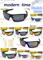 Wholesale framing america - New Reflective Europe and America Travel Sports Outdoors Outside Trip Punk Unisex Fashion Brand design Oil Rig Big Eyewear Sunglasses 36968