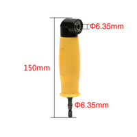 Wholesale hex shank socket for sale - 90 Degree Angle Extension Right Shank Drills Drivers Screwdriver Magnetic Tool inch Hex Drill Bit Holders Socket Adapter Sleeves
