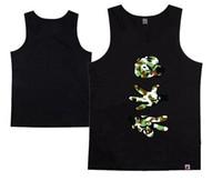 Wholesale Cheap Army Vests - Fashion Men's Booger Kids Tanks Cheap Price Sleeveless Garment Vests Top quality Men undershirt hip hop free shipping