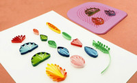 Wholesale paper belts - Paper Quilling Tool Belt 20 Needles Arts And Crafts Making Tools High Quality DIY Flower Make Appliance Hot Sale 7fx J R