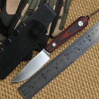 Wholesale Scout Knife Camping - Bolte Scout D2 blade G10 handle fixed blade hunting straight knife KYDEX Sheath camp survival outdoors tactical EDC knives tools