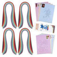 "Wholesale Quilling Paper Strips - ZETOM Paper Quilling Strips, 36 Colors 21"" (54cm) Long 4 Widths (3mm 5mm 7mm 10mm) Quilling Paper Set with Paper Quilling Template Patterns"