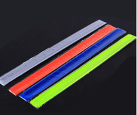 Wholesale Bike Cylcing Leg Pants Band Strap Reflective Belt without any printing colors available
