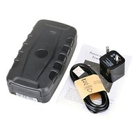 Wholesale Standby Battery Mobiles - 20000mAh Battery Magnetic GSM GPRS GPS Tracker Portable Waterproof SOS Car Vehicle Human Asset Tracking Long Time Standby