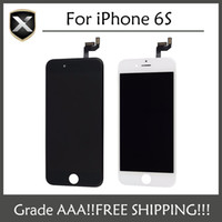 Wholesale Fast Touch - Grade A+++ For iPhone 6S LCD Display Assembly Touch Screen for iPhone 6S & Fastest Free Shipping