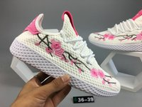 Women pace shoes - New Top best Quality shoes Pharrell Williams PW HUMAN PACE fashion Tennis Hu Sneakers On Sale women size