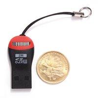 cartes génériques achat en gros de-Générique Nouveau 2016 Superspeed USB 2.0 Mini Haute Vitesse Micro SD T-Flash TF M2 Lecteur de Carte Mémoire