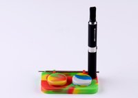 Wholesale Low Price E Cigs - Wholesale DHL Silicone Tray It Can Hold Silicone Containers Dia 32mm E-cigs Dia 14.5mm Have Our Own Fatory Lower Price