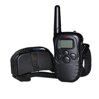 S5Q LCD Trainingshundetrainer Fern Vibration Stopp Barking Dog Training Device AAAGFT