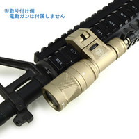 Wholesale Hard Anodizing - Tactical IFM CAM Scout Light Gun light Hard Anodizing Aluminum QD CREE LED Dual-Output Flashlight Dark Earth
