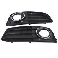 Mayitr 1 Par Car Fog Light Cover Grill Front Bumper Grille Para Audi A4 A4L B8 2009 2010 2011 Left Right Side