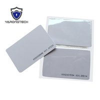 Wholesale Rfid Printed Cards - TK4100 4102  EM 4100 blank RFID card with UID printed