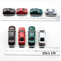 Wholesale Miniature scale model cars scale train scenery layout plastic model cars