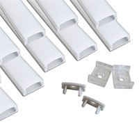 Wholesale u profiles - 10set lot 2m led aluminium profile for led bar light, led strip light aluminum channel, waterproof aluminum housing U shape
