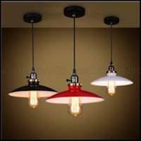 Wholesale Hang Lights Ceiling - Modern Industrial Hanging Ceiling Light Pendant Lamp Shade Fixture Chandeliers LLWA207