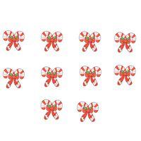 os presentes sew para o natal venda por atacado-10 PCS de presente de Natal remendos do bordado para roupas remendo de ferro para roupas applique acessórios de costura adesivos em roupas de ferro em remendos