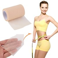 sports body tape - 6cm m Feet Nude Foam Medical Therapy Sports Tape Bandage Body Slim
