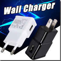Wholesale Micro Usb Wall Plug - Micro USB Wall Charger Home Travel Adapter 5V 2A US EU Plug Universal Fast Charging For iPhone 8 Samsung 8 S7 NOTE 8 True Full 5V 2A 5V 1A
