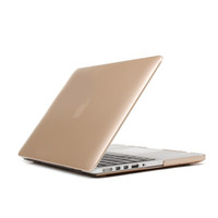 "Wholesale 15 Inch Macbook Pro Skin - Newest Glossy Metallic Gold Hard Skin Case Cover for Macbook Pro Air 11"" 13""15"" Pro Retina 12"""