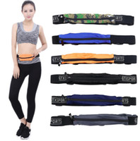 Sport Runner Fanny Pack Voyage Handy Randonnée Ceinture Fitness Running Jogging Bum Bag Zip Money Pouch Purse Waist Bag KKA2347