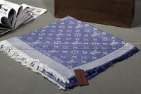 Wholesale Thick Acrylic Blankets - Wool Scarf Shawl Pashmina Ponchos Pashmina Women Winter Capes designer Oversized Thick Warm Knit Shawl Blanket Scarf