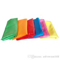 Wholesale elegant party supply wedding props for sale - Group buy Wedding performance dance props smooth soft light and elegant pure color silk banquet silk color silk supplies