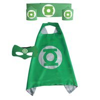 Wholesale One Piece Cape - Children's Cape and Mask Superhero series belt wrist one piece=2 wrist + 1 Belt, 14 for styles to choose