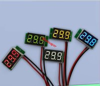 "Wholesale Motorcycle Battery Voltage Monitor - free shipping USA DC 2.5-30V 0.36"" two 2 Wires LED Digital Panel Volt Meter Voltage Voltmeter Car Motor motorcycle battery voltage monitor"