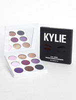 Wholesale Direct Factory Sale - Factory direct sale Best Newest 9 Color kylie The Purple Palette Eyeshadow Fall collection Eye shadow Kylie Jenner Cosmetics Palette