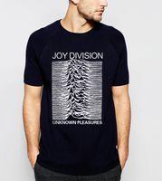 Wholesale High Pleasure - Wholesale- 2017 Summer Joy Division Unknown Pleasure Men T-Shirt 100% Cotton High Quality Plus Size Short Sleeve O-Neck Tops Tee For Fans