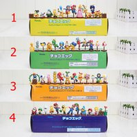 Wholesale Super Mario Action Figures Collection - 13pcs set Super Mario Bros Mario Luigi PVC Action Figures for Xmas Wii Collection 4 styles Toy Figures