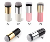 Neue Haar-werkzeuge Kaufen -Neue Große Runde Kopf Make-Up pinsel für Foundation BB Creme Pulver Kosmetik Make-Up Pinsel Flachkopf Weiches Haar Makeup Tools