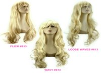 Wholesale long blonde human hair wig bangs resale online - Full Lace Human Hair Wigs Hair Blonde Brazilian Hair Full Lace Wig Long Before The Lace Wig Bang White Women Silk Wig kabell