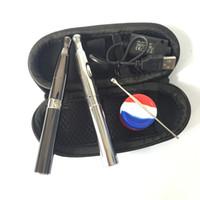 pen samples UK - 1pc sample vape pen puffco pro kit with dual ceramic coil dual quartz ceramic coil donut ceramic coil usb cable wax vaporizer e cig kit
