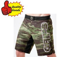 Wholesale Mma Fighting Shorts - In stock-MMA GRIPS CAMO SNAKE HYBRID TRAINING SHORTS Muay Thai MMA Shorts Fight Shorts-Black