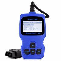 Wholesale Creader V - Wholesale- NexLink NL100 OBD2 detector function Car diagnostic scanner as creader v +