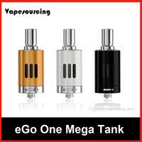 Wholesale Ego Clearomizer 4ml - Ecigarette Vaporizer Atomizers Joyetech Ego One Mega VT Clearomizer Replacement 4ML Ego One Mega VT Tank Atomizer 100% Athentic