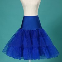"""Wholesale Dhgate Real - 2016 Real Photo DHgate the cheapest 26"""" 50s Retro Underskirt Swing Vintage Petticoat Fancy Net Skirt Rockabilly Tutu Free Shipping"""