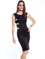 Wholesale Cheap Womens Party Clothes - New Sleeveless dresses Around Clothes Sexy Dress bodycon cheap casual party women womens clothing ladies clubwear